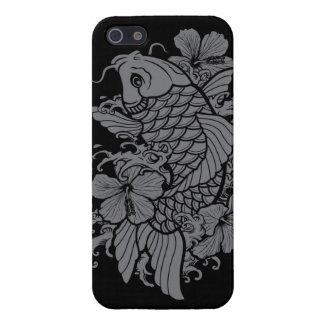Gray Koi Fish iPhone 5 Covers