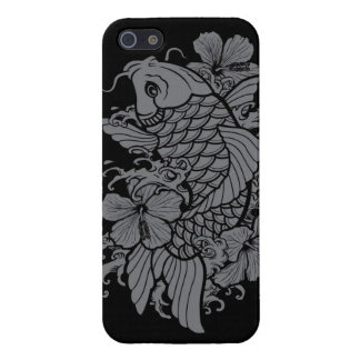 Gray Koi Fish Covers For iPhone 5