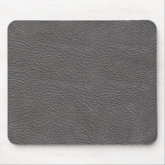 Gray leather texture mousepad