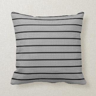 Gray Lines Decor-Soft Modern#2b Pillows