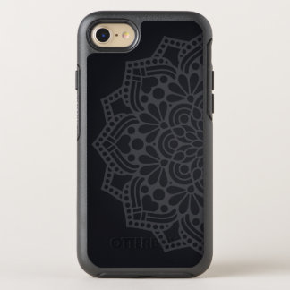 Gray Mandala OtterBox Symmetry iPhone 8/7 Case