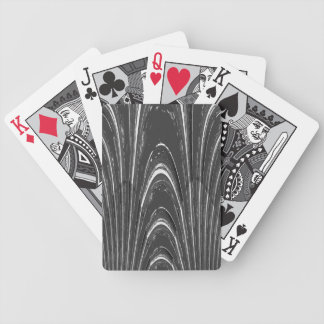 Gray Marble Texture Poker Deck of Cards