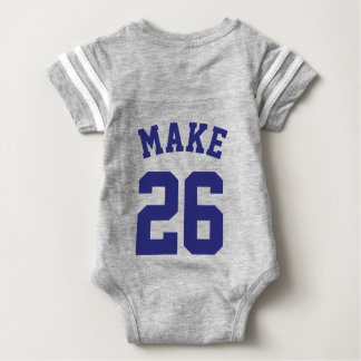 Gray & Navy Baby | Sports Jersey Design Shirt