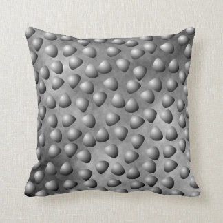 Gray Pebbles and Stone Throw Pillow