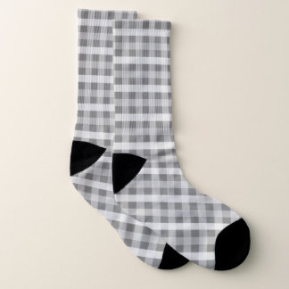 Gray Plaid Patterned 1
