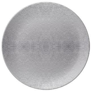 gray plate porcelain plates