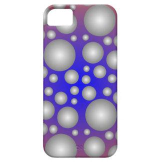 Gray Purple Blue Bubble iPhone5 Case
