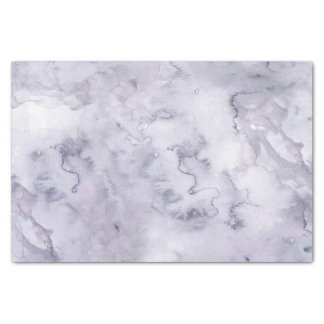 Gray Purple Misty Background Watercolor Tissue Paper