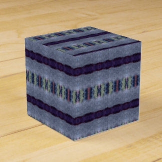 gray purple stripe gift box