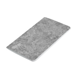 Gray Raw Concrete/Cement Mock-Texture Notebook