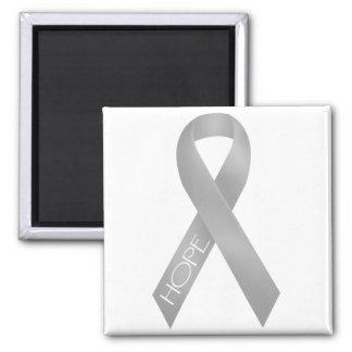 Gray Ribbon Magnet