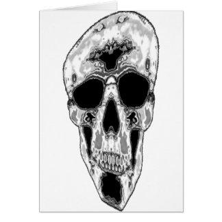 Gray Skull II Card