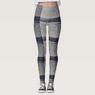 Gray Speckled Leggings
