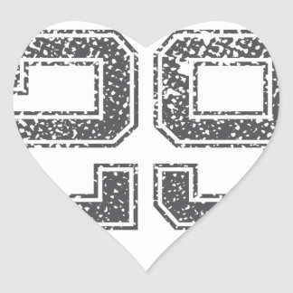 Gray Sports Jersey #29 Stickers