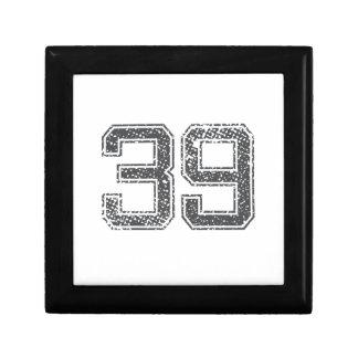 Gray Sports Jersey #39 Gift Box