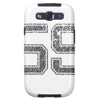 Gray Sports Jersey #59 Galaxy SIII Covers