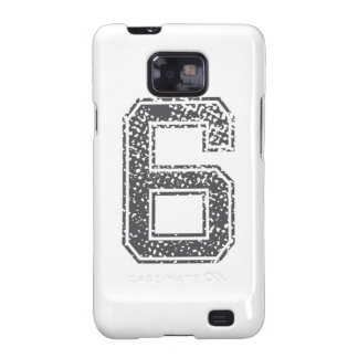 Gray Sports Jersey #6 Galaxy SII Cover