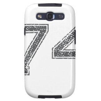 Gray Sports Jersey #74 Galaxy SIII Case