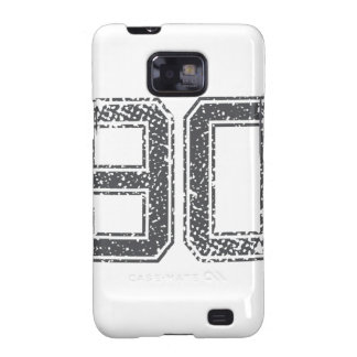 Gray Sports Jersey #90 Galaxy SII Cases