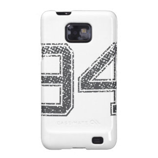 Gray Sports Jersey #94 Galaxy SII Case