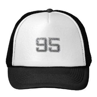 Gray Sports Jersey #95 Hats