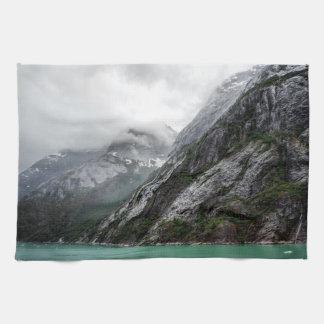 Gray Stone Mountain Kitchen Towel