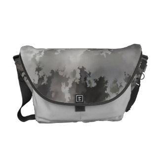 GRAY STORM MESSENGER BAG