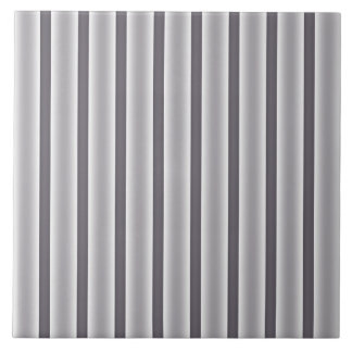 Gray Stripes Tile