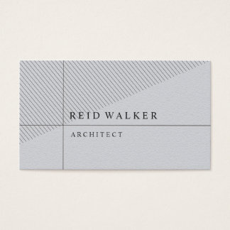 Gray Stylish Business Card