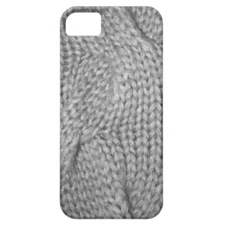 Gray Sweater knitted look, iPhone 5 case