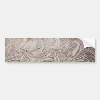 Gray swirls bumper stickers