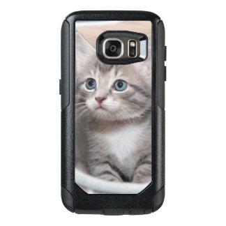 GRAY TABBY KITTEN CELL PHONE CASE