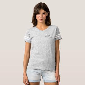gray tee-shirt traditional gray logo T-Shirt