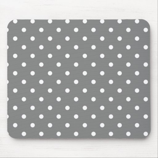 Gray Template Mouse Pad