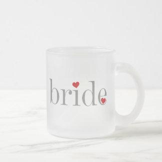 Gray Text Bride Coffee Mug