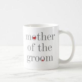 Gray Text  Mother of Groom Coffee Mug