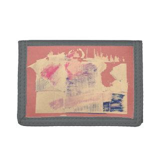 Gray three fold naironuoretsuto trifold wallets