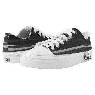 Gray Tiger Camo Printed Shoes