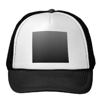 Gray to Black Horizontal Gradient Mesh Hat