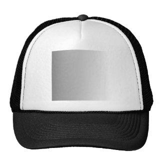 Gray to White Vertical Gradient Trucker Hat