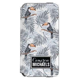 Gray Toucan | Add Your Name Incipio Watson™ iPhone 6 Wallet Case