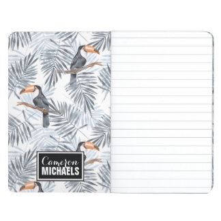 Gray Toucan | Add Your Name Journal
