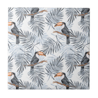 Gray Toucan Tile