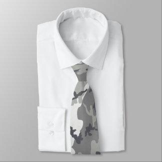 Gray Urban Camo Tie
