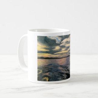 """""""Gray Waves"""" Mug"""