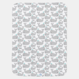 Gray Whales Baby Blanket