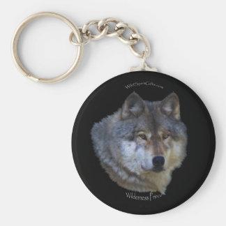 GRAY WOLF Design Wildlife Art Key-chain Key Chain
