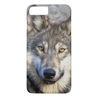 Gray Wolf Dignity iPhone 7 Plus Case