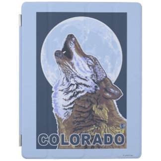 Gray Wolf HowlingColorado iPad Cover