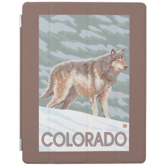 Gray Wolf StandingColorado iPad Cover